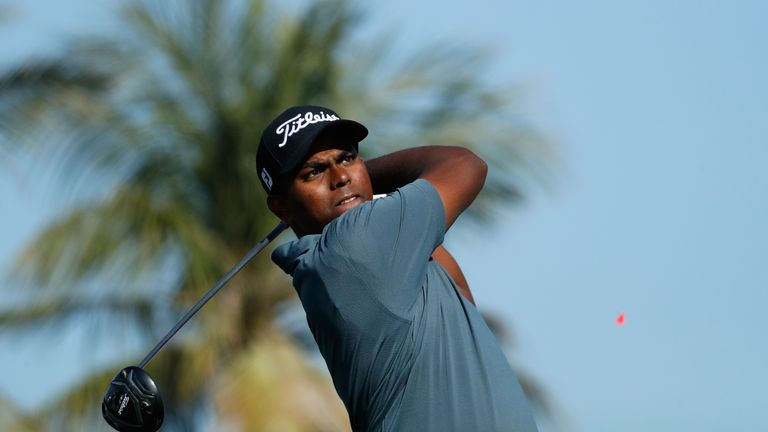 Rayhan Thomas equalled a world record with his nine birdies in a row