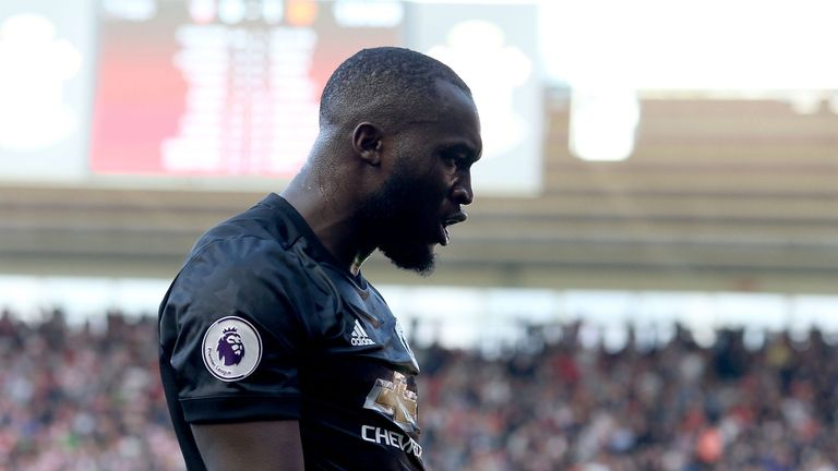 Romelu Lukaku continued his fine start to life at Manchester United