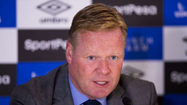 Ronald Koeman says home wins are key in the Europa League