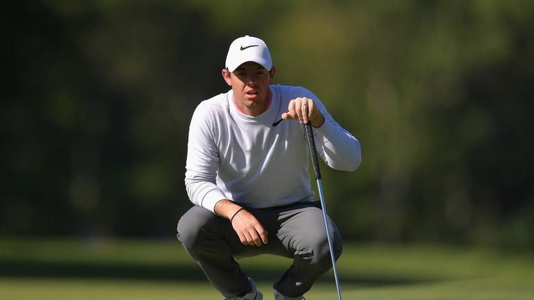 McIlroy is projected to slip to 50th in the FedExCup standings
