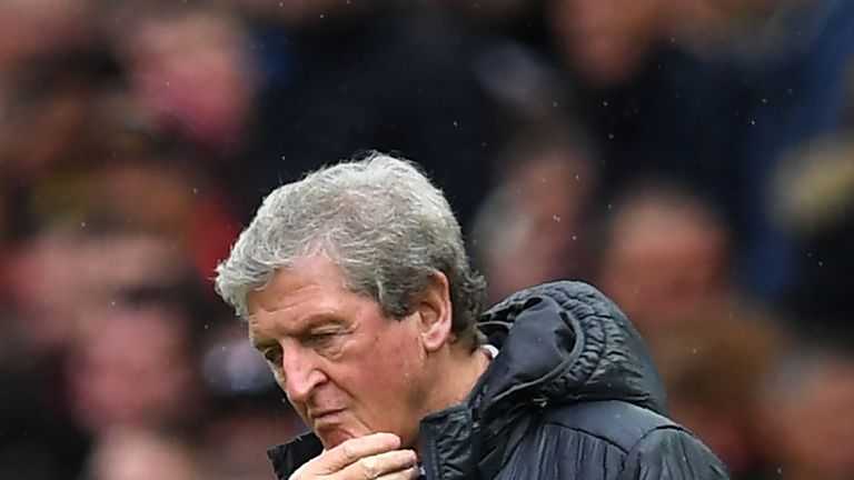 Crystal Palace are on the brink of losing nine consecutive games without scoring