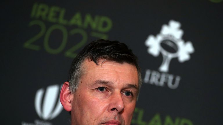 IRFU chief executive Philip Browne criticized aspects of the recommended South African bid this week