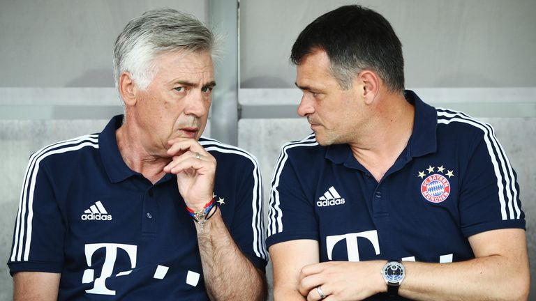 Willy Sagnol (right) will take charge until further notice
