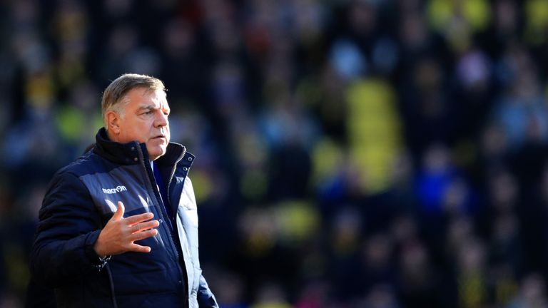 Sam Allardyce previously worked as a coach at West Brom