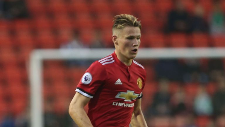 Scott McTominay could feature for Manchester United against Burton in the Carabao Cup