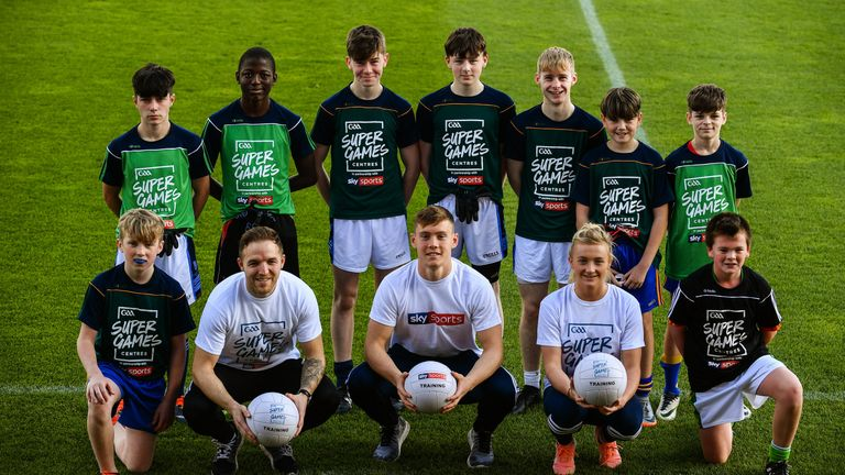 Saturday's GAA #youthForum is one of three major grassroots initiatives that Sky Sports is involved with