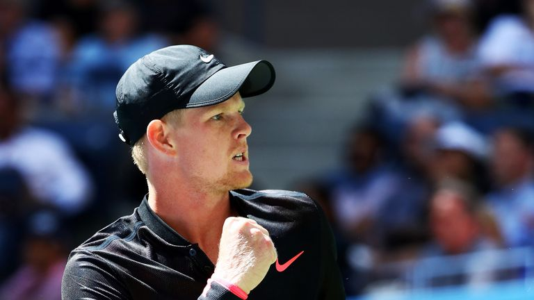 Kyle Edmund is the main British hope outside Murray in the singles at Grand Slams