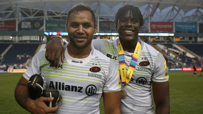 Billy Vunipola and Itoje were both part of a strong Saracens starting line-up