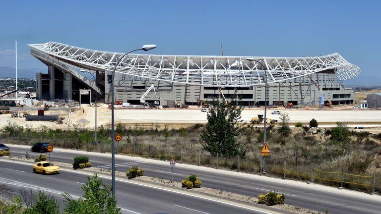 The Wanda Metropolitano Stadium