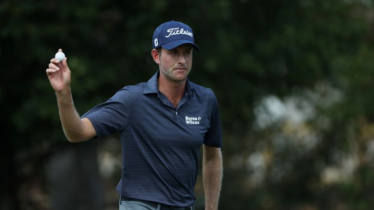 Webb Simpson faded after a decent start on Saturday