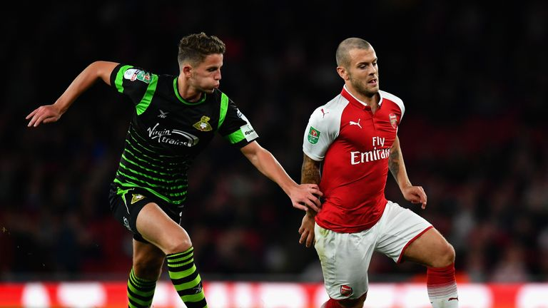 Wilshere impressed against Doncaster on Wednesday