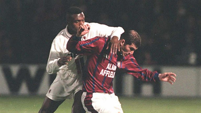 Zinedine Zidane might have left Bordeaux for Manchester United but for Eric Cantona