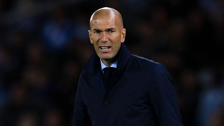 Zinedine Zidane says Real Madrid 'brilliant' in win over Borussia Dortmund | Football News | Sky ...