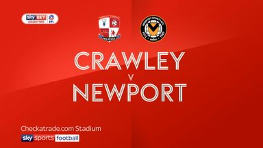 Crawley 1-2 Newport