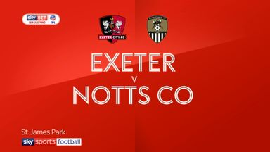 Exeter 0-3 Notts County