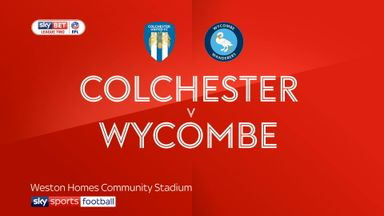 Colchester 1-2 Wycombe
