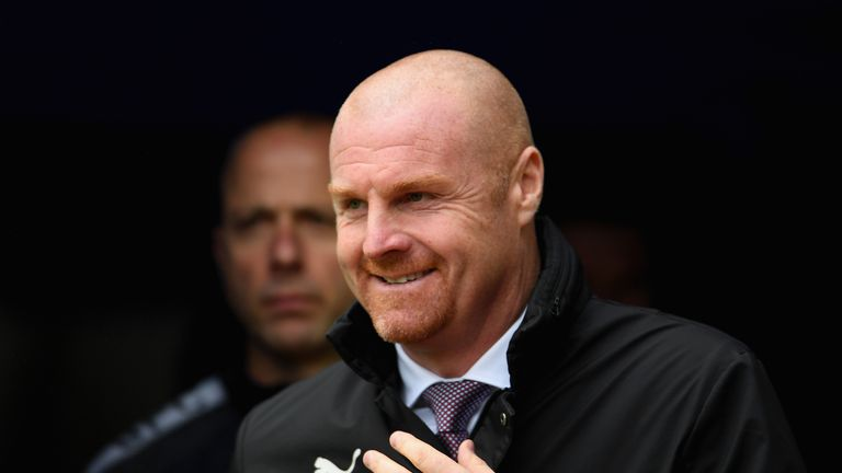 Sean Dyche was content with three points from Burnley's win over Crystal Palace - but less impressed with his team's display at Turf Moor