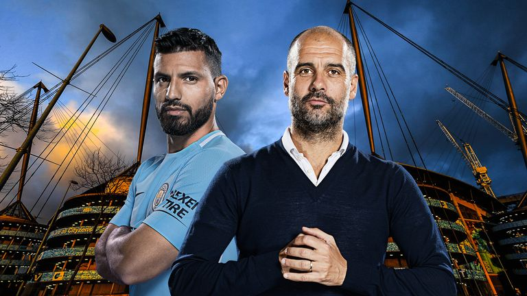 Sergio Aguero and Pep Guardiola are enjoying a purple patch at Manchester City