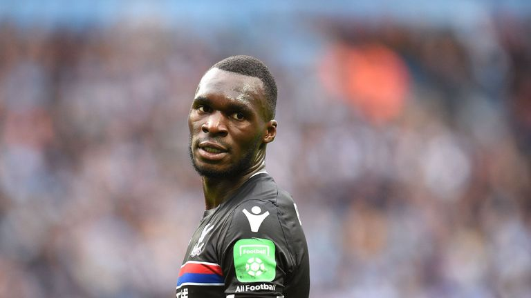 Christian Benteke suffered ligament damage in the defeat to Manchester City last weekend