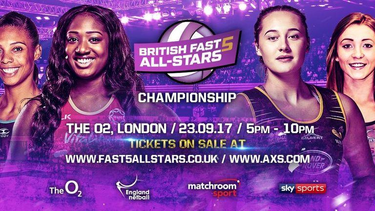 British Fast5 All-Stars Netball