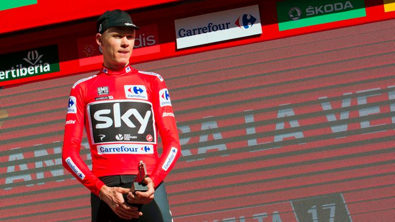 Chris Froome had another steady day at La Vuelta