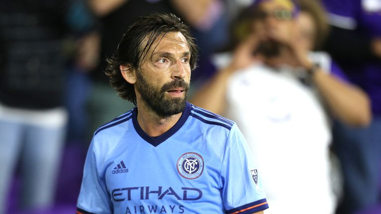 Andrea Pirlo will play his final regular-season game for New York City on Decision Day
