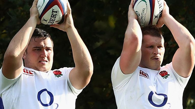 The selection debate between Dylan Hartley and Jamie George continues