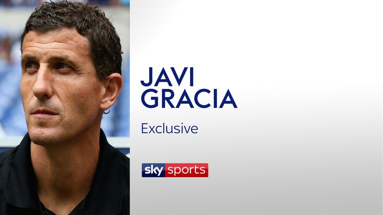 Former Malaga coach Javi Gracia spoke exclusively to Sky Sports in October