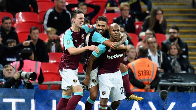 West Ham have scored 19 goals this season but have conceded  25