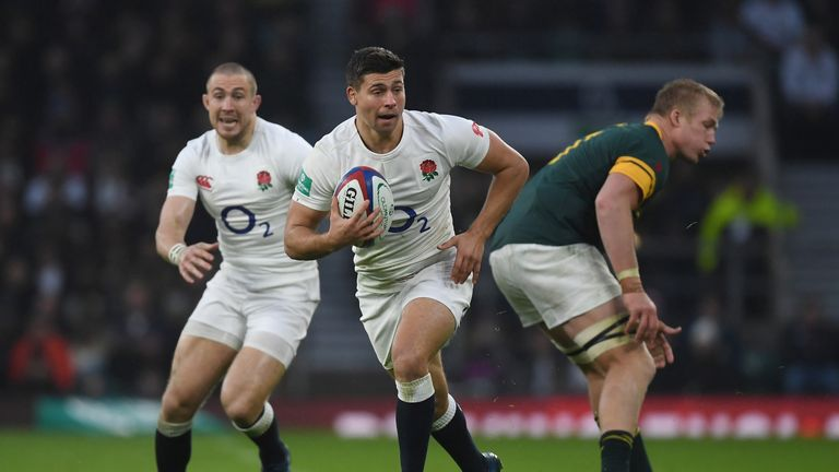 Ben Youngs had a great game against South Africa in the Autumn Internationals last year