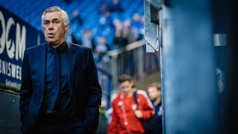 Carlo Ancelotti parted company with Bayern after their faltering start to the season