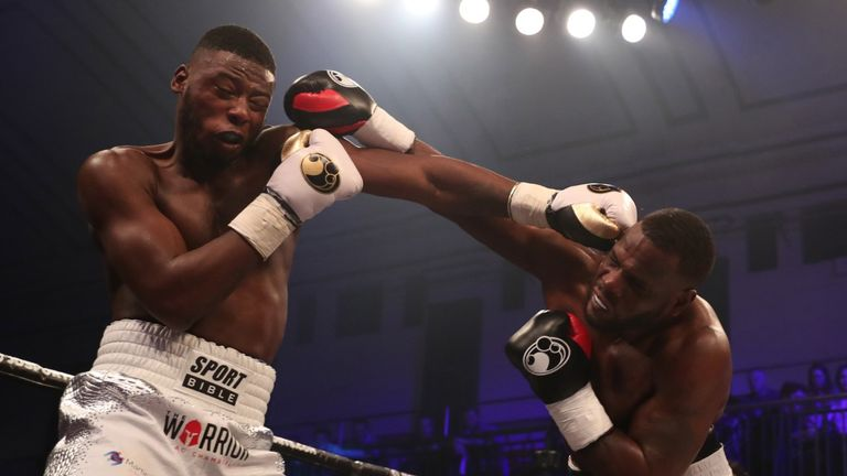 Chamberlain and Jervier swapped shots in a vibrant fifth round