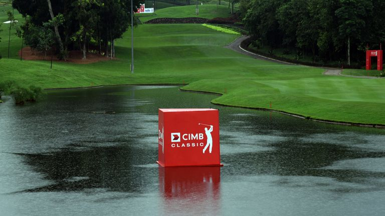 Play was suspended at 10.26am local time