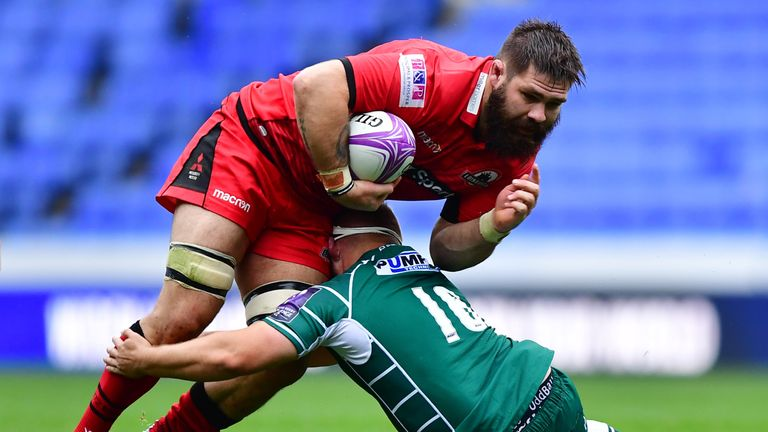 Cornell du Preez is leaving Edinburgh for Worcester