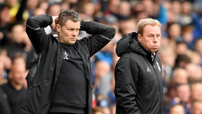 Steve Cotterill was assistant to Harry Redknapp at Birmingham at the end of last season