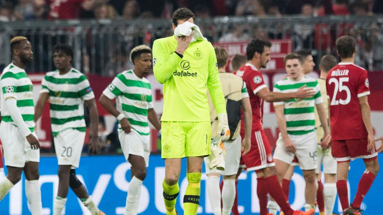 Celtic were heavily beaten in Bavaria last time out
