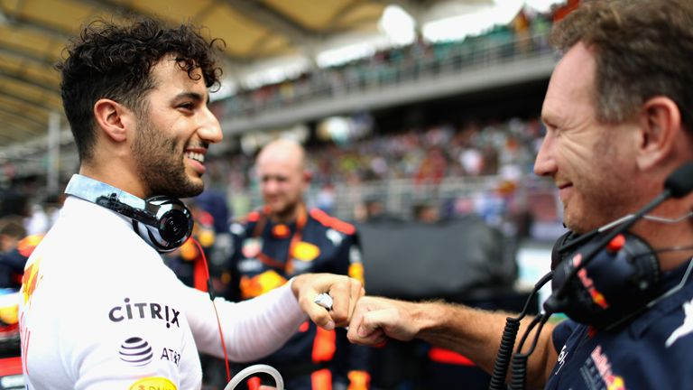 Daniel Ricciardo is entering the final 12 months of his contract