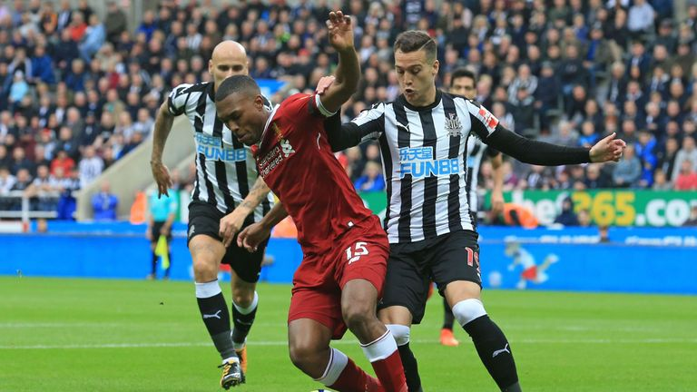 Rafa Benitez's Newcastle frustrated Liverpool in a 1-1 draw