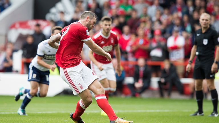 Daryl Murphy is a key man for Nottingham Forest