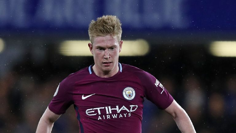 Kevin De Bruyne has been in fine form in recent weeks, scoring crucial goals in the league and Europe