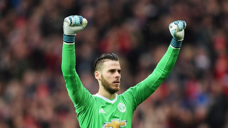 De Gea is contracted to Man Utd until the summer of 2019