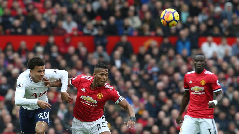 Tottenham and Man Utd are at opposite ends of the distance covered rankings