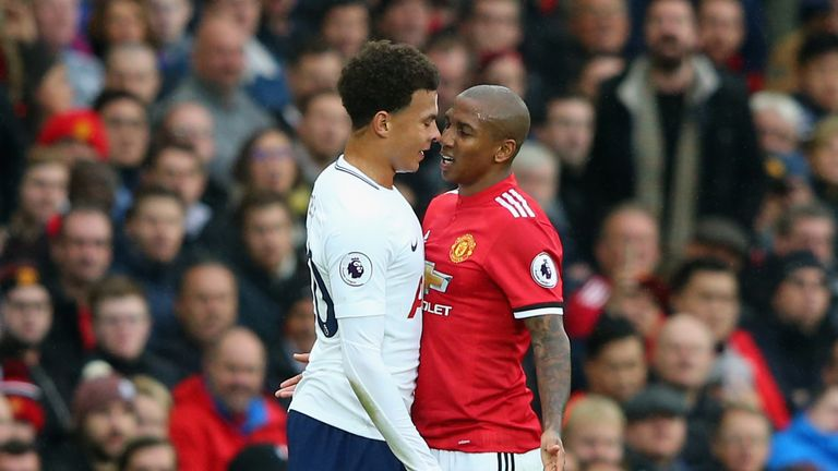 Young insists his clash with Dele Alli was in the heat of the moment