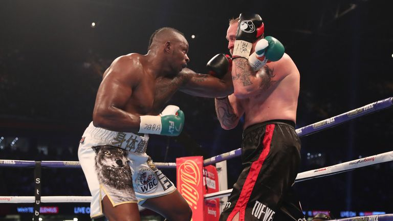 Whyte claimed WBC 'silver' title with a points win over Robert Helenius in October