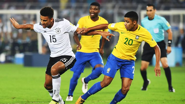 Brewster fires hat-trick as England outclass Brazil