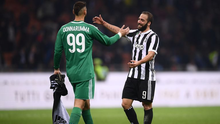 Serie A round-up: Gonzalo Higuain strikes twice as Juventus beat AC Milan