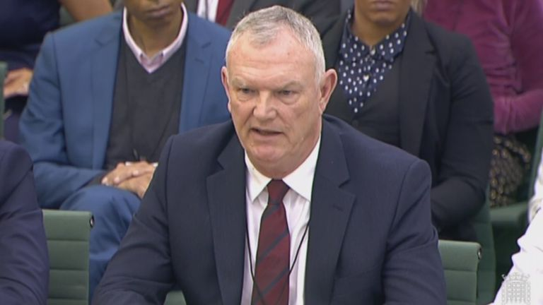 FA Chairman Greg Clarke was grilled by the Digital, Culture, Media and Sport Committee at Portcullis House in Westminster last month