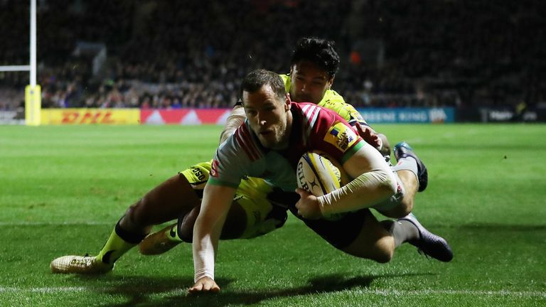 Tim Visser and Harlequins are back in the Champions Cup this season