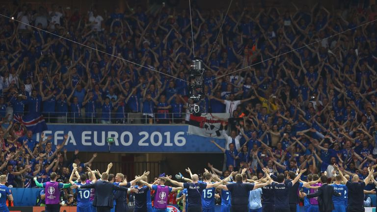 The Thunderclap was a huge hit at Euro 2016 - as were Iceland