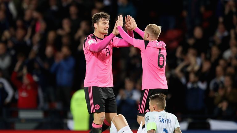 Scotland secured a last-minute 1-0 win against Slovakia on Thursday night
